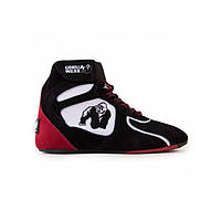 """Gorilla Wear, Кроссовки Chicago High Tops - Black/White/Red """"Limited"""", фото 1"""