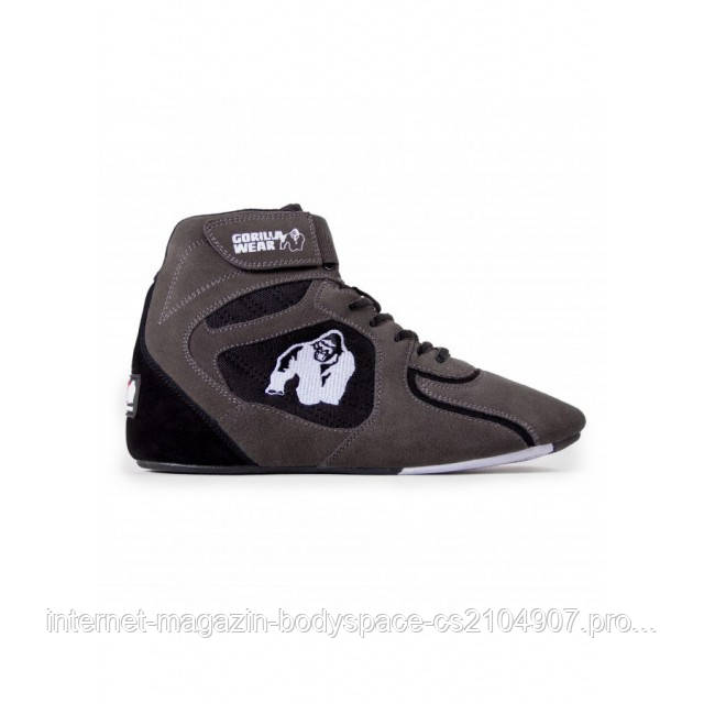 "Gorilla Wear, Кроссовки Chicago High Tops - Gray/Black ""Limited"""