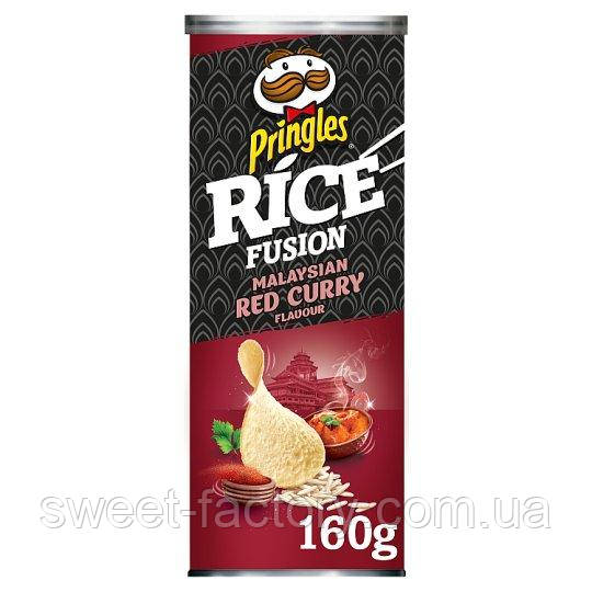 Pringles Rice Fusion Malaysian Red Curry 180 g