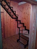 Универсальный каркас лестницы с разворотом 180 гр., фото 1
