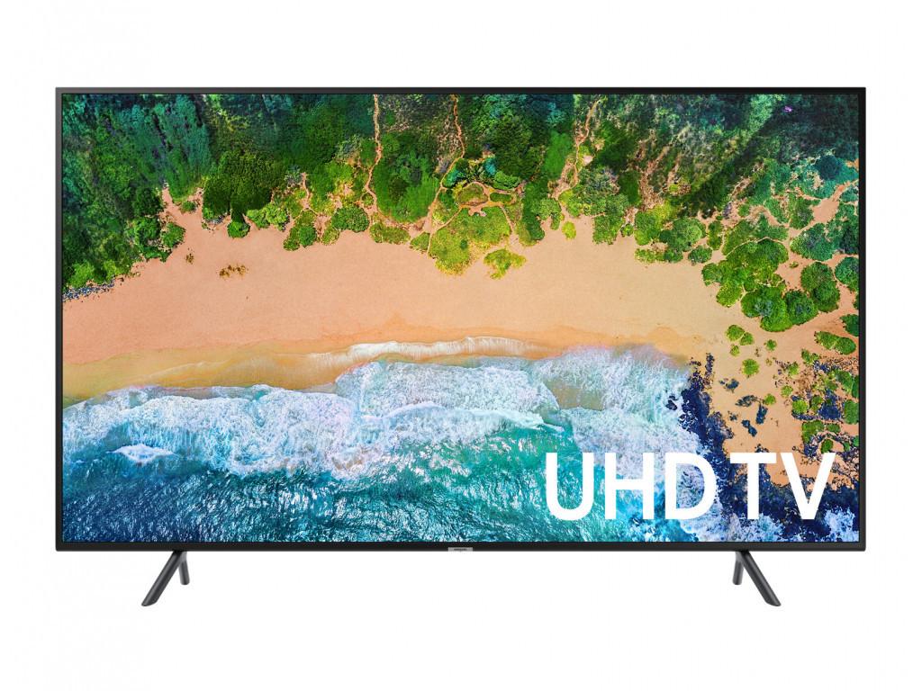 Телевизор Samsung UE75NU7102 (PQI 1300 Гц, 4K, Smart, UHD Engine, HLG, HDR10+, Dolby Digital+ 20Вт, DVB-C/T2)