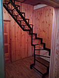 Універсальний каркас сходів з розворотом на 180 гр., фото 2
