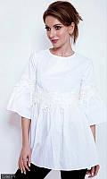 Белая блузка женская ,блузка белая , модная блузка ,блузы , стильные блузки ,рубашка модная женская