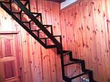 Універсальний каркас сходів з розворотом на 180 гр., фото 4