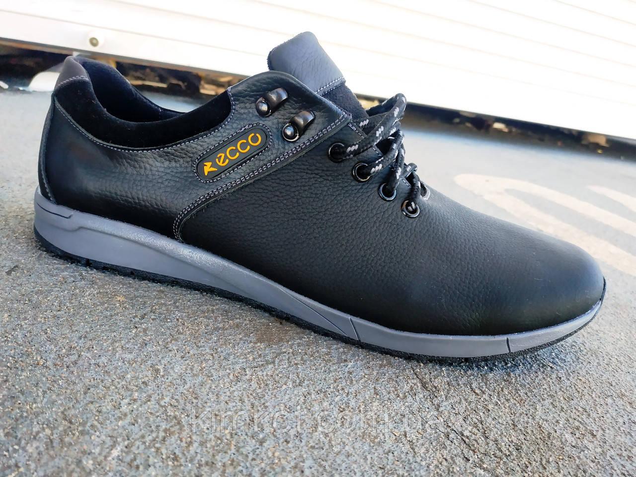 fdd9a34f Мужские кожаные кроссовки ECCO большие размеры 46-50 р-р: продажа ...