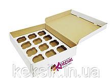 Коробка для для кексов 12 шт