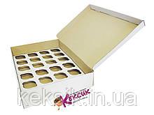 Коробка для для кексов 24 шт