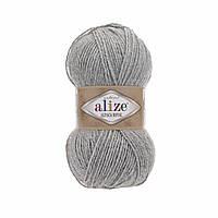 Alize ALPACA ROYAL светло-серый миланж №21