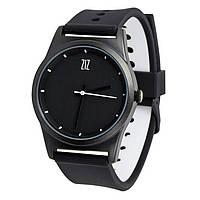 Часы Ziz Black в подарочной коробке на силиконовом ремешке и доп. ремешок - R142757