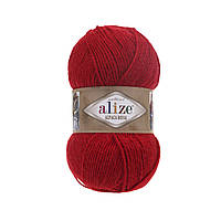 Alize ALPACA ROYAL червоний №56