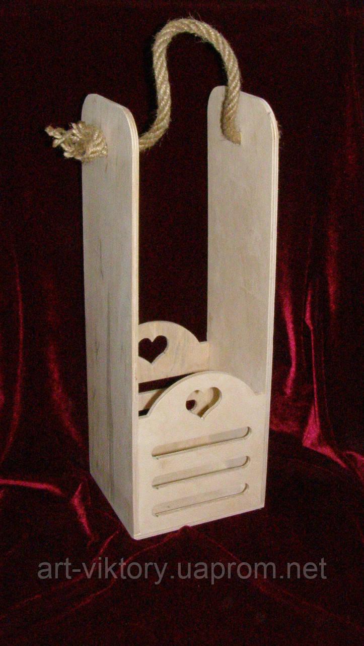 Винний короб (14 х 13 х 39,5 см)
