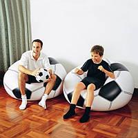 Кресло надувное Футбольный мяч Intex Интекс 68557