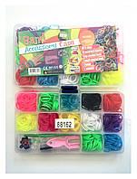 Набор резинок для плетения браслетов (480шт).
