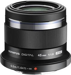 Объектив Olympus ET-M4518 45 мм 1:1.8 Black