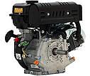 Двигатель бензиновый Loncin LC 175F-2   (8 л.с., ручной стартер, шпонка Ø25мм, L=58мм), фото 2