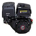 Двигатель бензиновый Loncin G420FD (13 л.с., электростартер, шпонка Ø25мм, L=58мм), фото 3