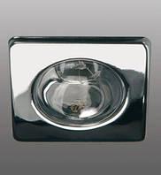 Светильник точечный квадратный BRILUM S50S хром.