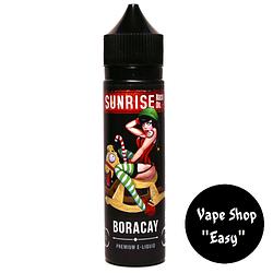 Sunrise 60 ml Премиум жидкость (заправка) для электронных сигарет\вейпа. 0 мг\мл, Boracay