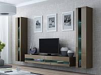"""Стінка в вітальню """"Віго Нью 4/ Vigo New 4"""" від Cama (латте), фото 1"""