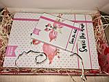 Подарунок подрузі набір блокнотів Flamingo з фламінго, фото 2