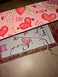 Подарунок подрузі набір блокнотів Flamingo з фламінго, фото 4