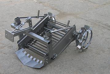 Картофелекопалка транспортерная Ярило привод от колес