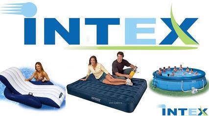 Надувные кровати, матрасы, диваны, бассейны intex