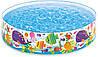Детский каркасный бассейн Подводный мир Intex 56452