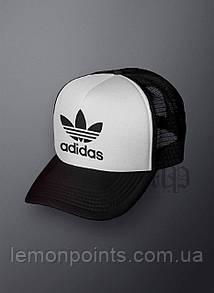 Кепка мужская спортивная Adidas K102 белая