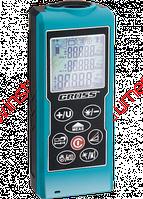 Дальномер лазерный Kompakt 70, от 0,05 до 70 метров, функц. Пифагора, площадь, объем, таймер GROSS 38001