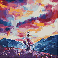 "Картина по номерам ""Дыхание ветра""  KHO2078"