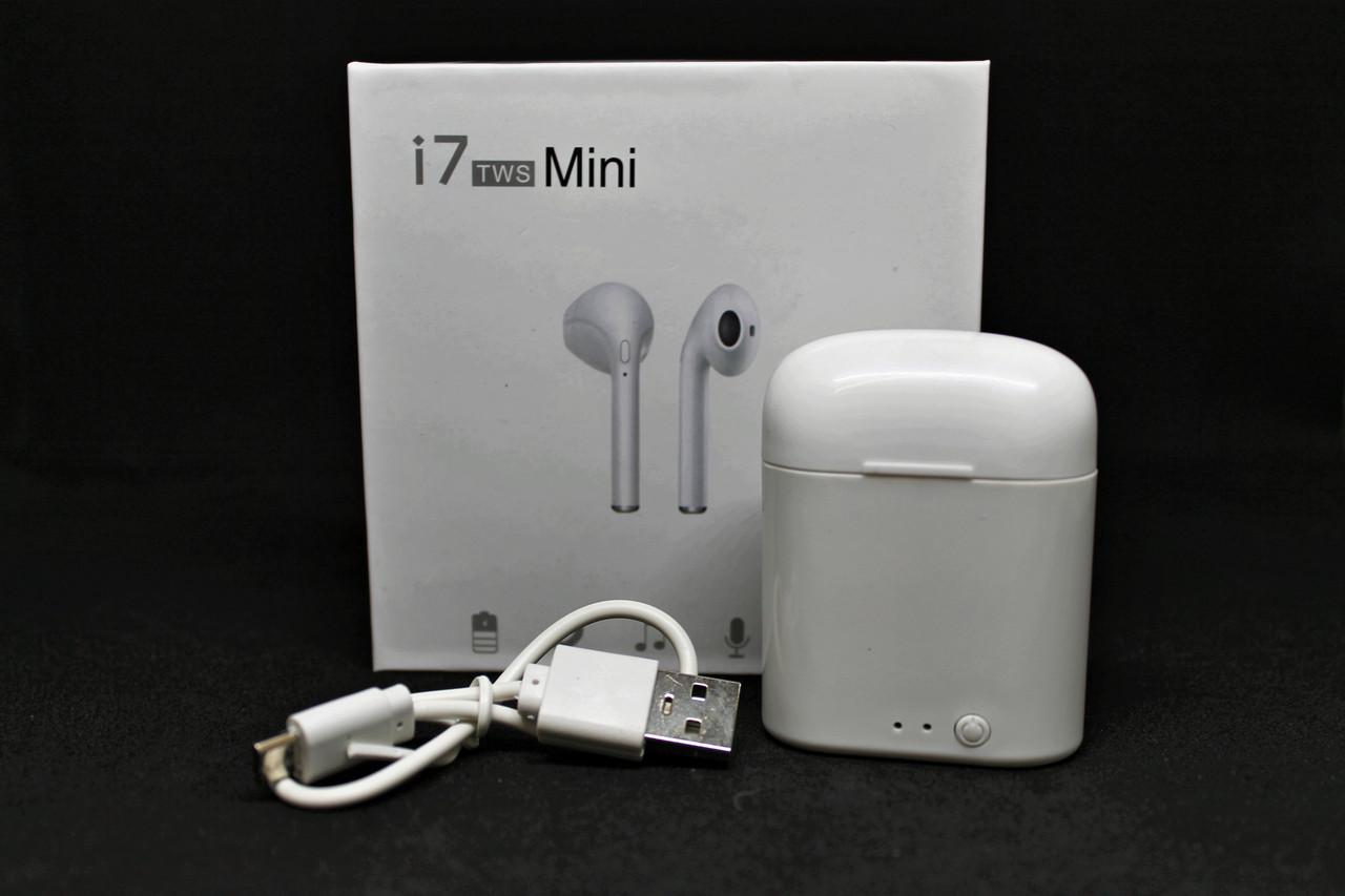 Беспроводные Bluetooth наушники iFans I7 mini TWS гарнитура