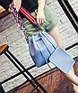 Сумка женская через плечо в наборе кошелек Suzy Синий, фото 4