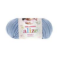 Alize Baby Wool светло-голубой №350, фото 1