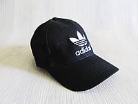 Бейсболка копия Адидас черная, фото 1