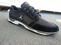 Мужские кожаные кроссовки Jordan большие размеры 46-50 р-р, фото 1