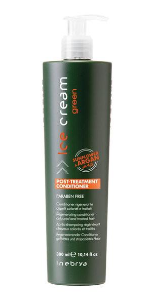 Регенерирующий шампунь для окрашенных волос Inebrya Green Post-Treatment  300ml