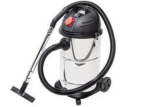 Строительный пылесос Intertool DT-1030 на 30 литров