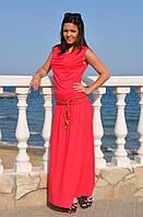 Макси платье, разные цвета, р С-ХХЛ
