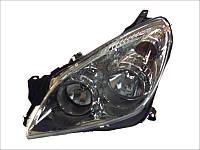 Передние (левая) Astra альтернативная тюнинг оптика фары на для OPEL Опель Astra H 2007-2014 левая H7/H1, хром. рамка, эл. рег., с моторч.