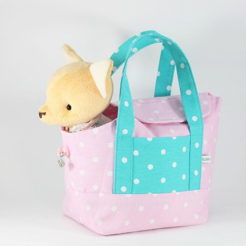 """Іграшка """"Чіхухуа в рожевій сумочці"""""""