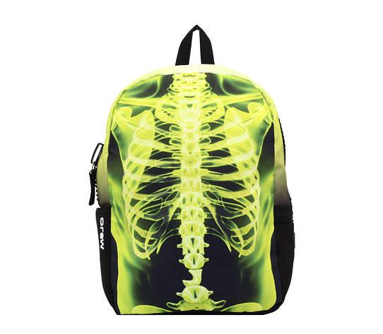 Рюкзак Mojo РЕНТГЕН (цвет черно-желтый), фото 2