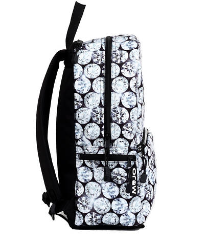 Рюкзак Mojo БРИЛЛИАНТЫ (цвет серый мульти с LED Свет), фото 2