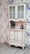 Посудный шкаф из массива дерева Прованс ПР-06 РКБ-Мебель, цвет на выбор