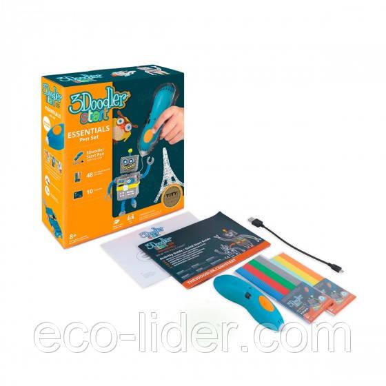 3D-ручка 3Doodler Start для детского творчества – КРЕАТИВ ПОДАРОЧНАЯ (48 стержней, 2 шаблона)
