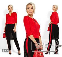 Стильный женский костюм ,норма р. S,M,L Фабрика Моды