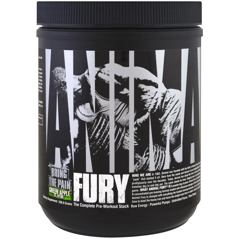 Передтренувальний комплекс Animal Fury Universal Nutrition 330 г