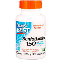 Benfotiamine 150 with BenfoPure Doctor's s Best 120 капсул