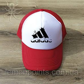 Кепка мужская спортивная Adidas K112  красная