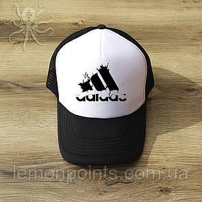 Кепка мужская спортивная Adidas K113 белая